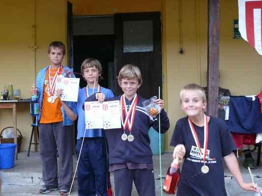 Medailisté ve sprintu - Medailisté ve sprintu - prostřední kategorie