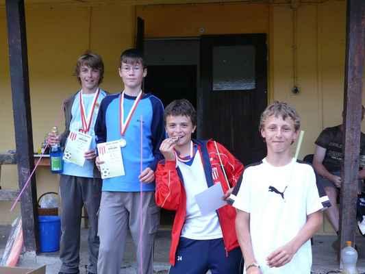 Medailisté ve sprintu - Medailisté ve sprintu - nejstarší kategorie