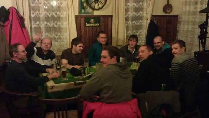 Soustředění v Jiřetíne pod Jedlovou - leden 2012