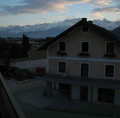 Ráno v Maihofenu.