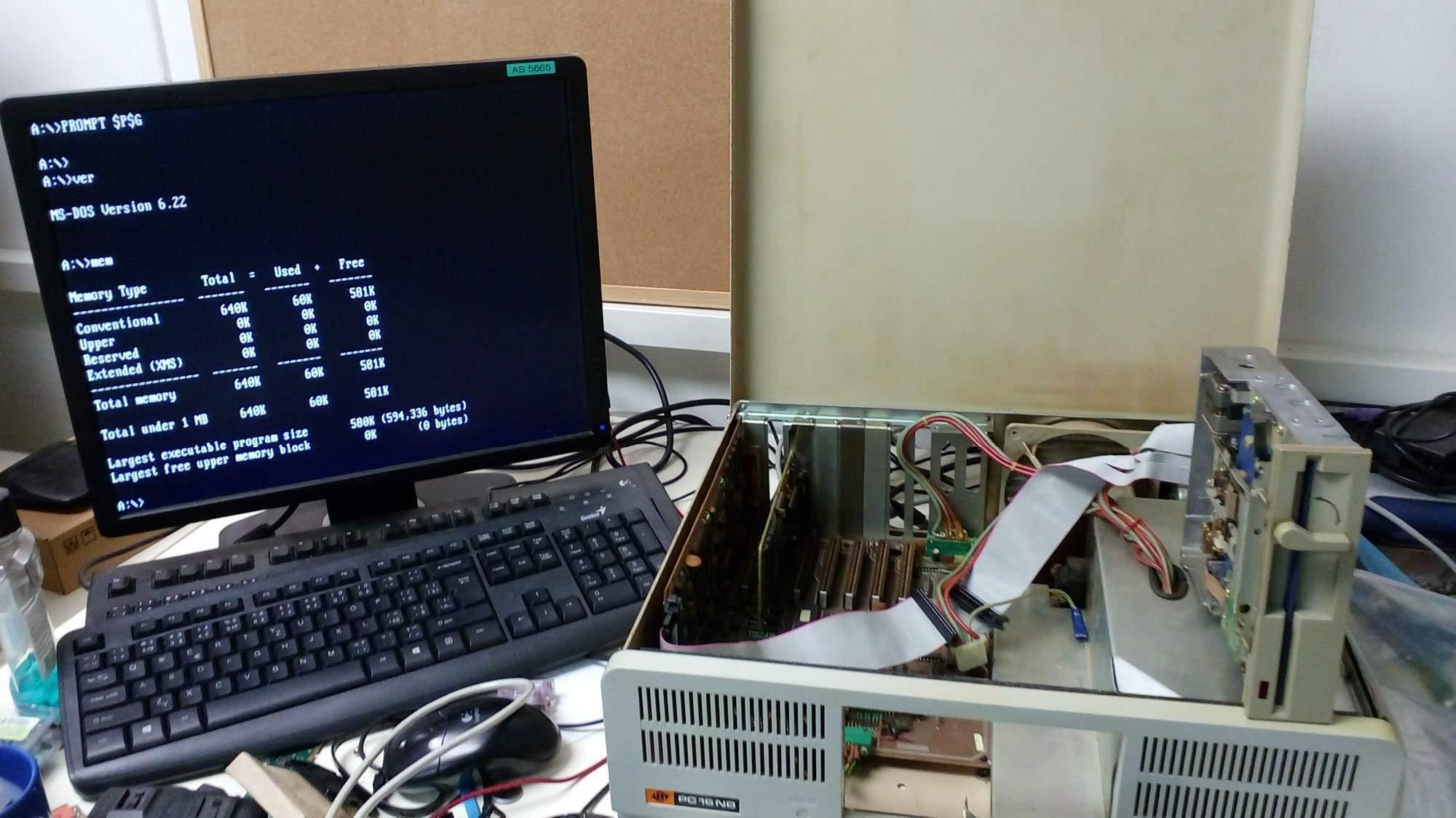 PC16NB 4,77MHz PC XT 1989