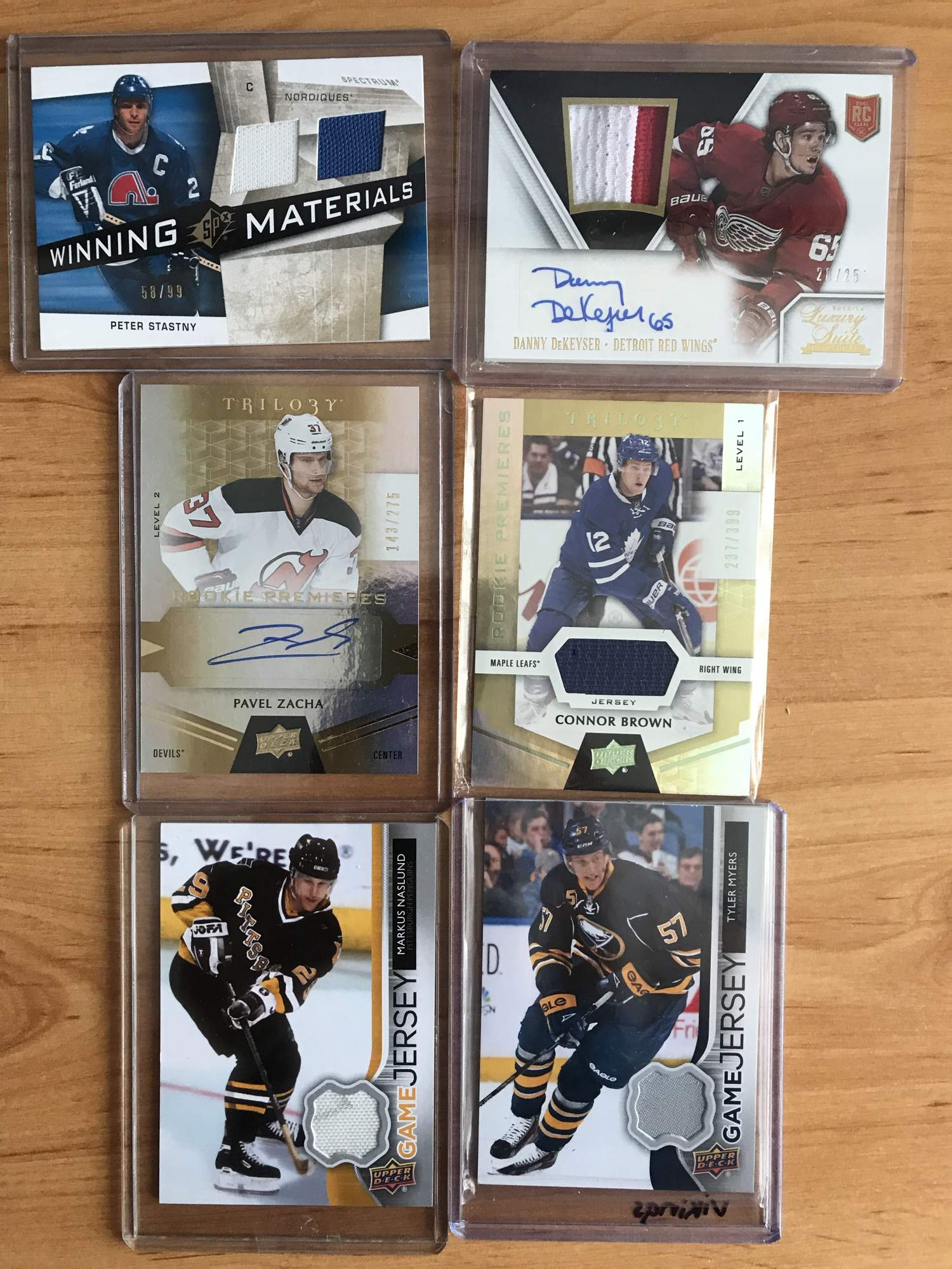 FOR SALE - Not Priced  Big offer of hockey cards - base - inserts ... 116692a3b