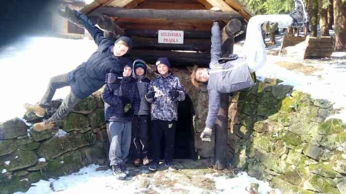 Výprava chlapeckého oddílu do Lukova