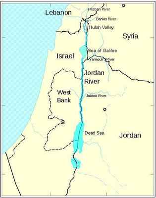 a obvyklý pohľad - https://commons.wikimedia.org/wiki/File:JordanRiver_en.svg#/media/File:JordanRiver_en.svg