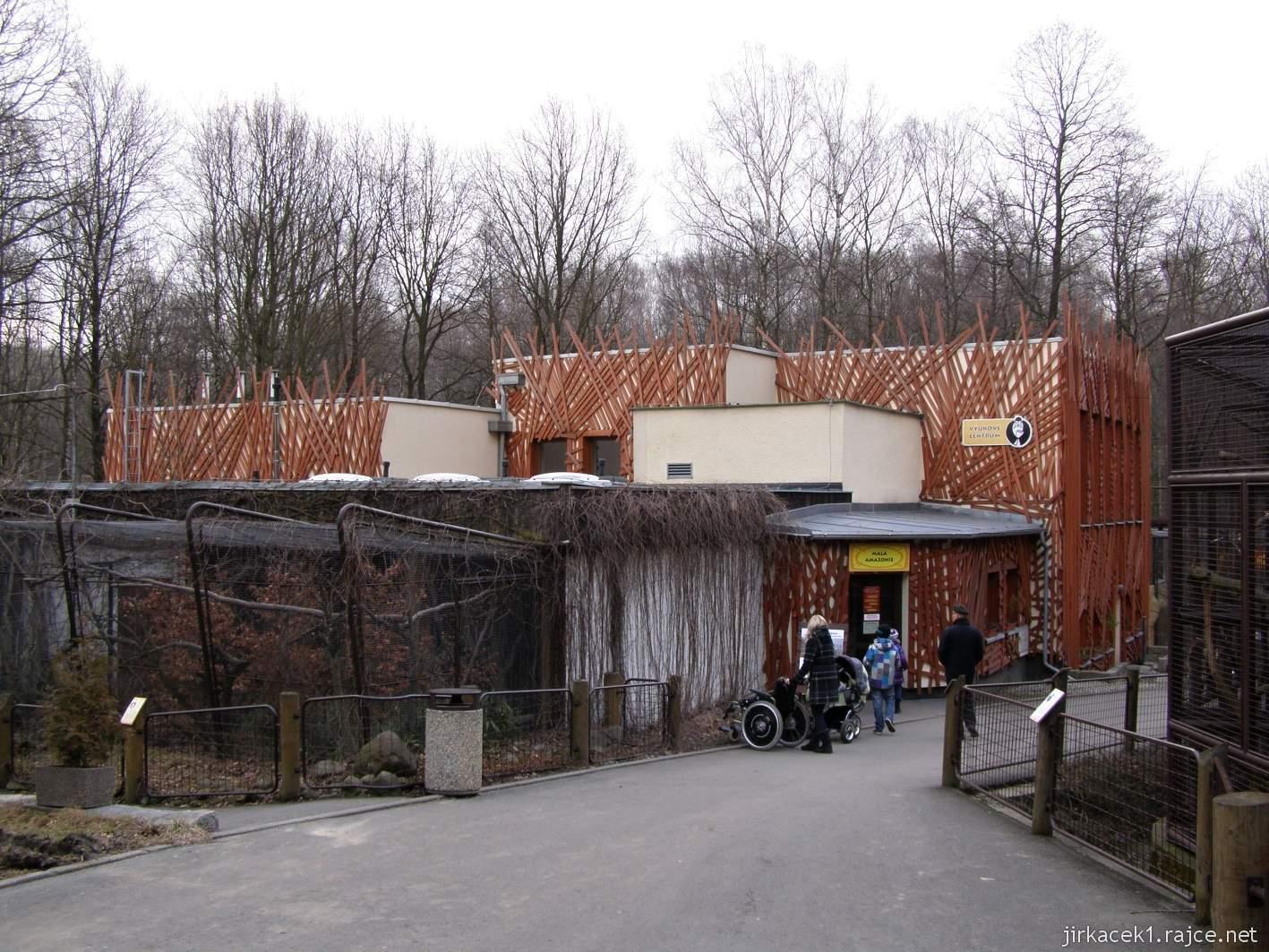 ZOO Ostrava 39 - pavilon Malá amazonie