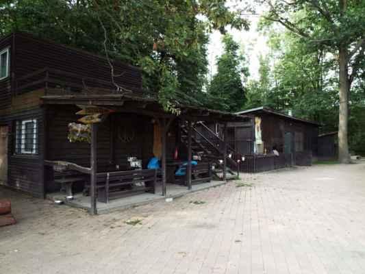 Horka nad Moravou - Lovecká chata - stáje