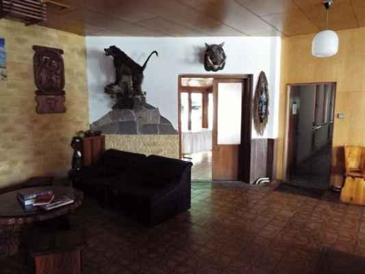 Horka nad Moravou - Lovecká chata - interiér