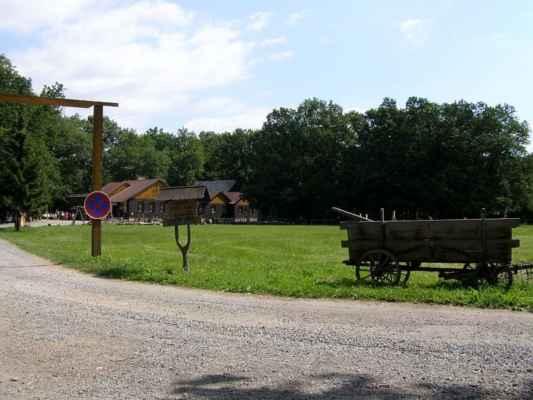 Horka nad Moravou - Lovecká chata - příchozí cesta
