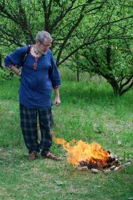 v ohni letošního Beltinu jsem symbolicky spálil vše, co mne od minulého Beltinu pěkně potrápilo...