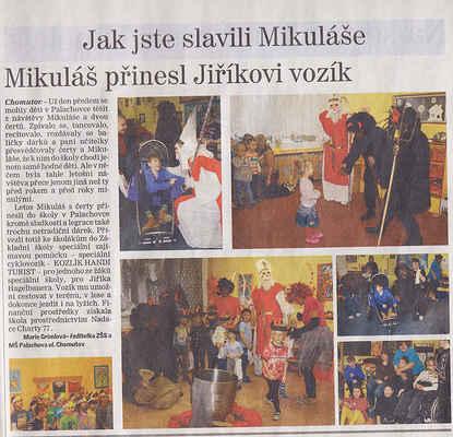 Chomutovský deník 12. 12. 2012