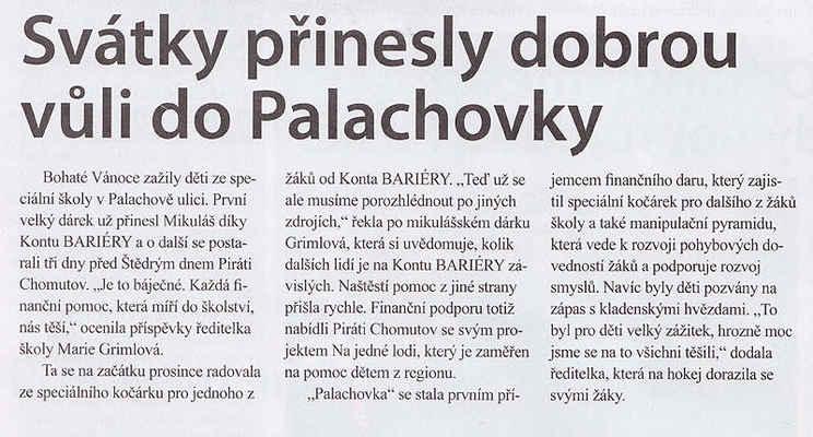 Chomutovské noviny 9. 1. 2013