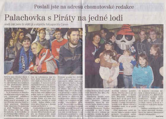 Chomutovský deník 10. 1. 2013