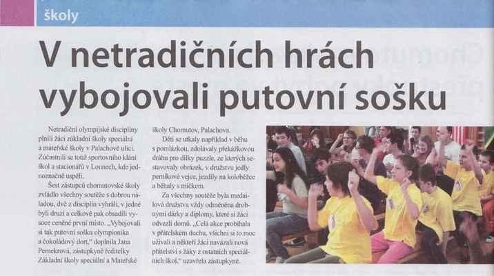 Chomutovské noviny 17. 4. 2013