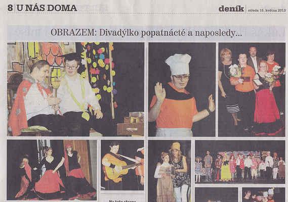Chomutovský deník 15. 5. 2013 ... 1. část