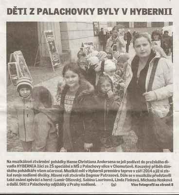 Chomutovský deník 5. 11. 2014 ... 1. část