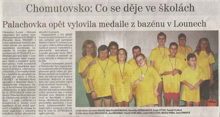 Chomutovský deník 15. 12. 2014