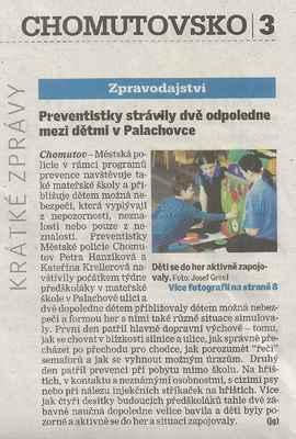 Chomutovský deník 5. 3. 2015 ... 1. část