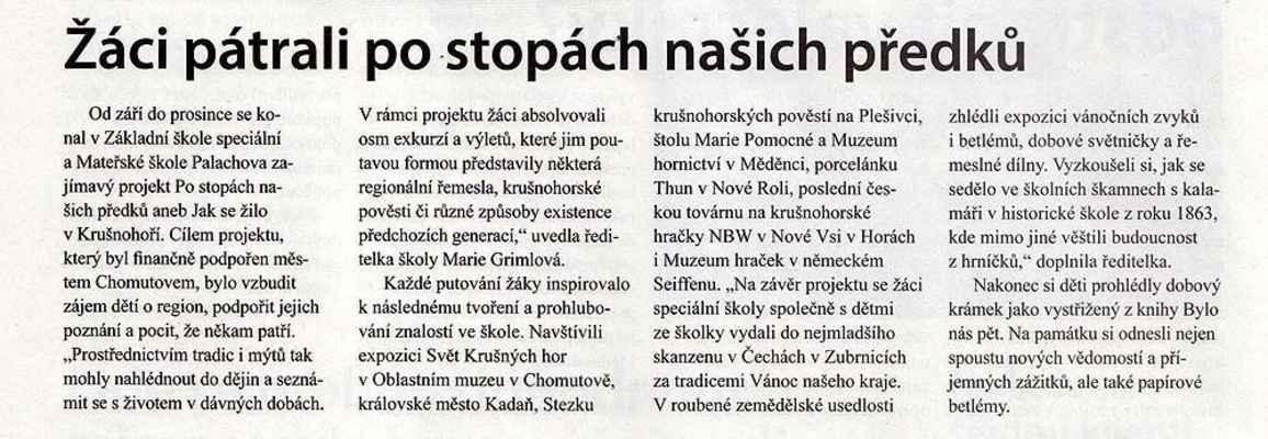 Chomutovské noviny 6. 2. 2019