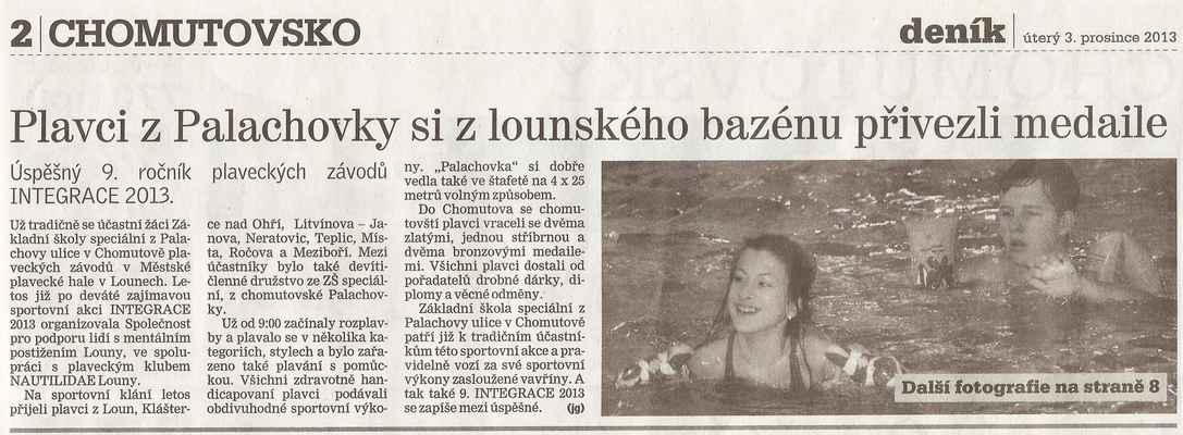 Chomutovský deník 3. 12. 2013 ... 1. část