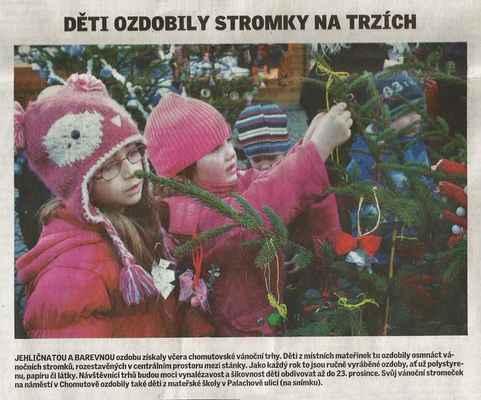 Chomutovský deník 3. 12. 2013