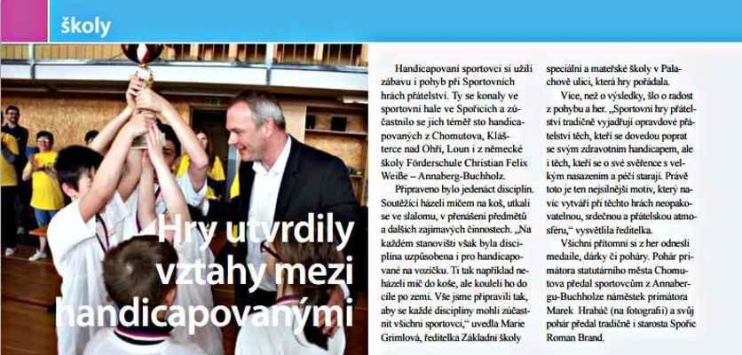 Chomutovské noviny 20. 5. 2015