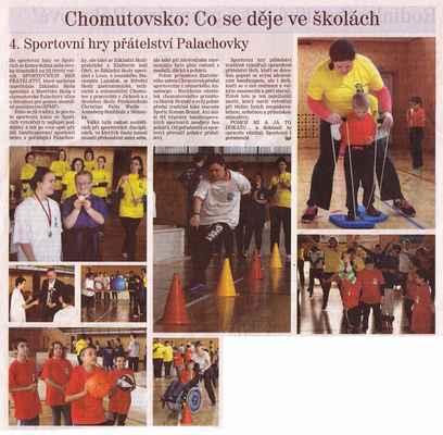 Chomutovský deník 14. 5. 2015
