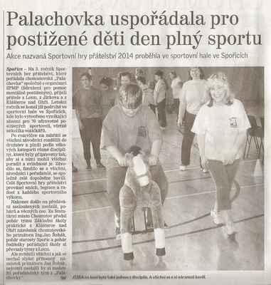 Chomutovský deník 17. 4. 2014 ... 1. část